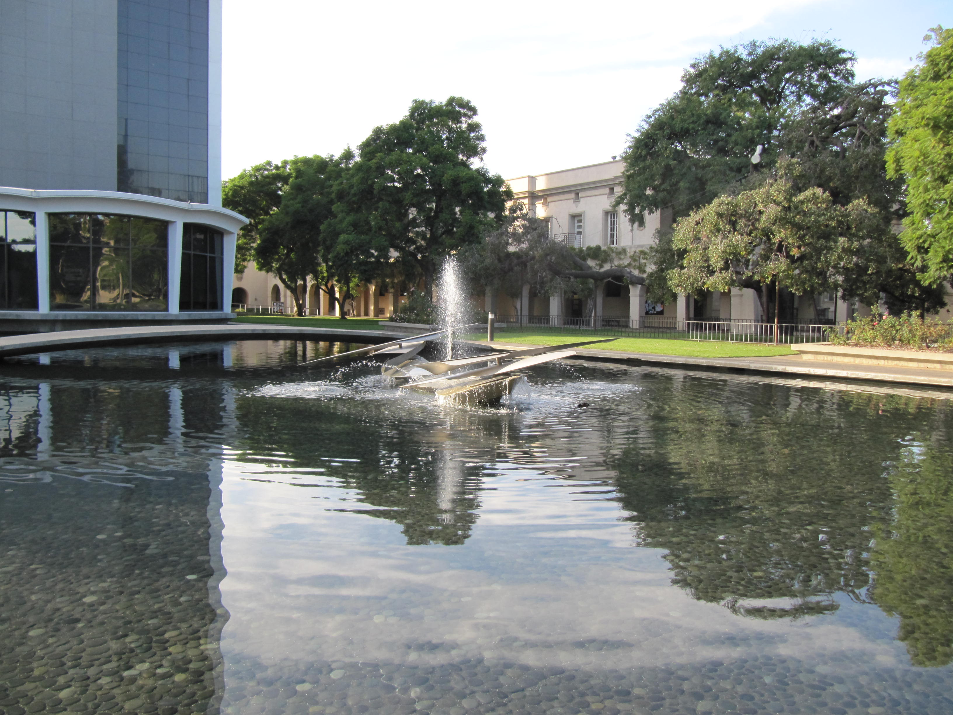 Cal Tech Fountain